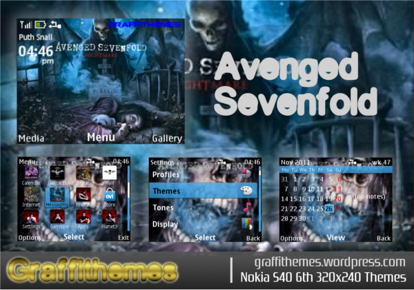 download tema avenged sevenfold untuk nokia x2-01
